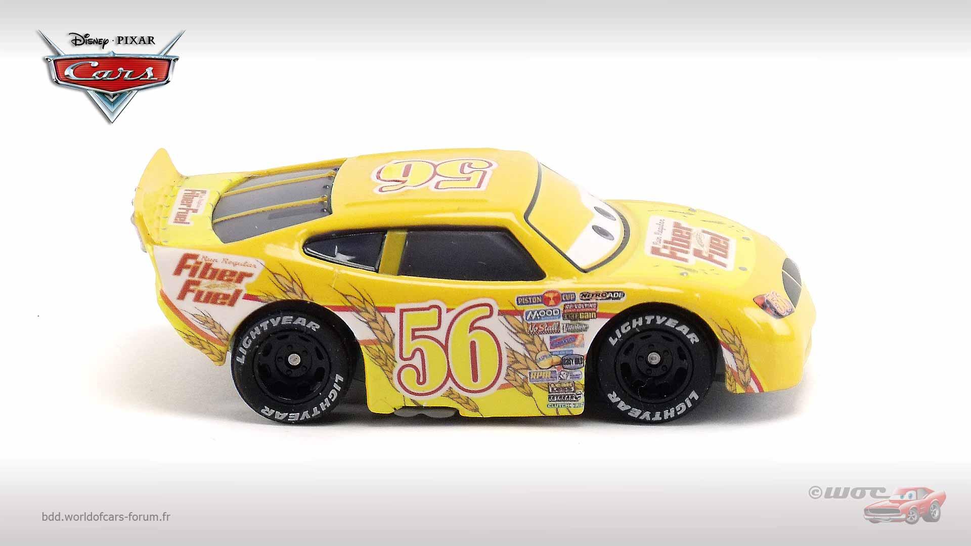 7 11 Gas Card >> World of Cars : présentation du personnage Fiber Fuel (#56) - Brush Curber