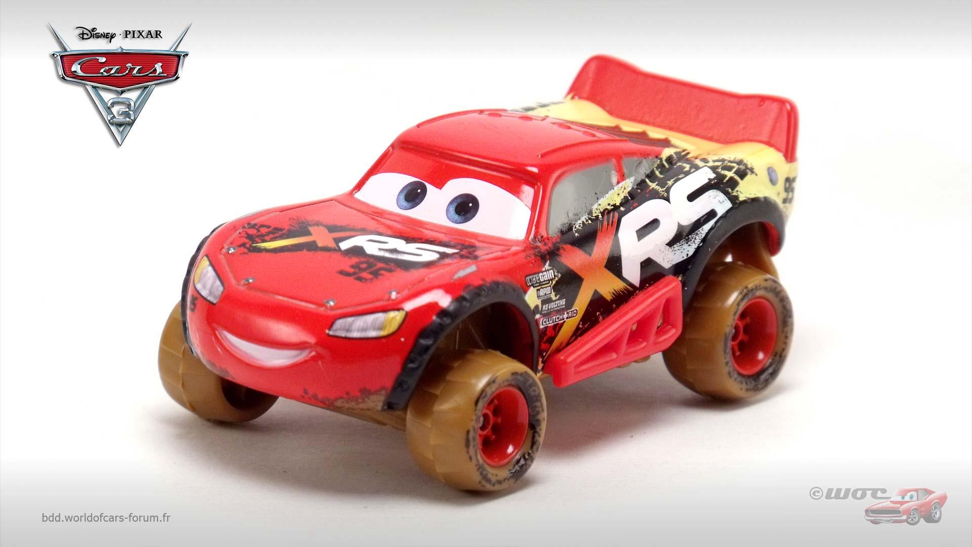 World Of Cars Présentation Du Personnage Flash Mcqueen