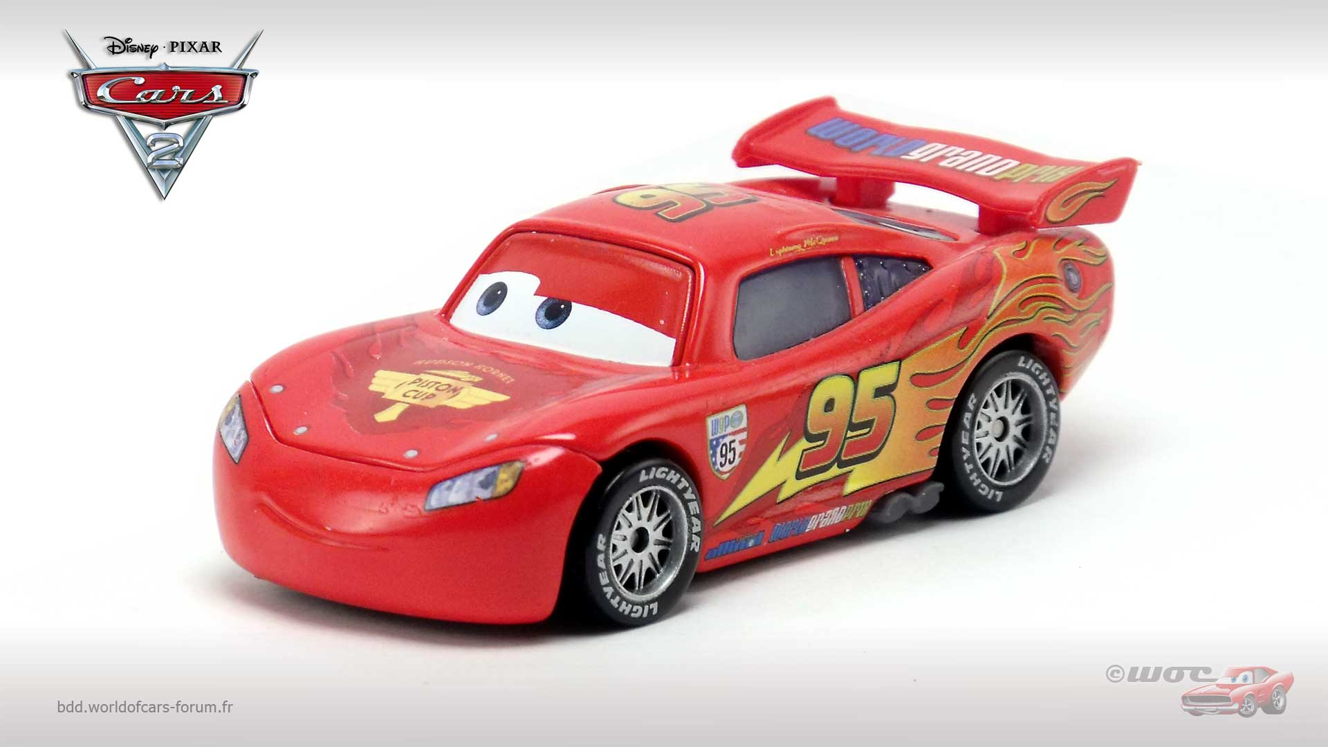 Lightning McQueen with Party Wheels (variant)