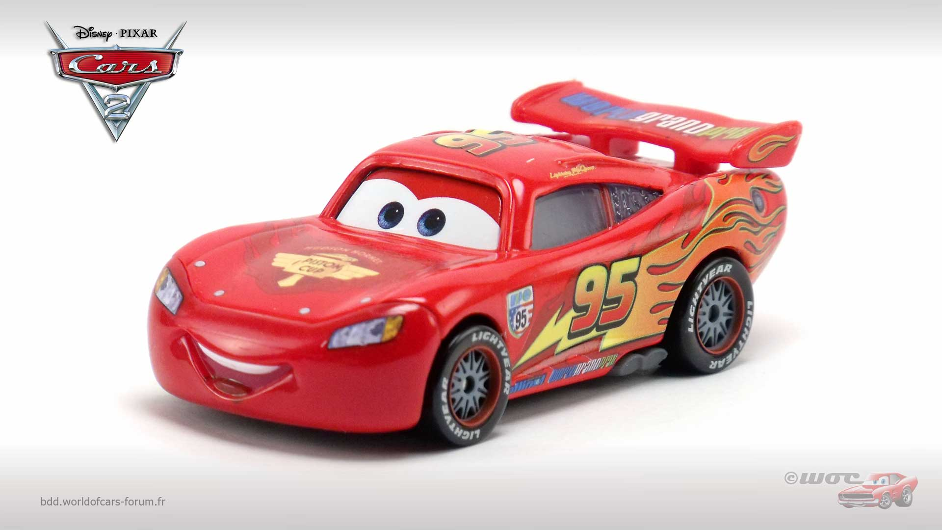 Lightning McQueen with Racing Wheels (variant)