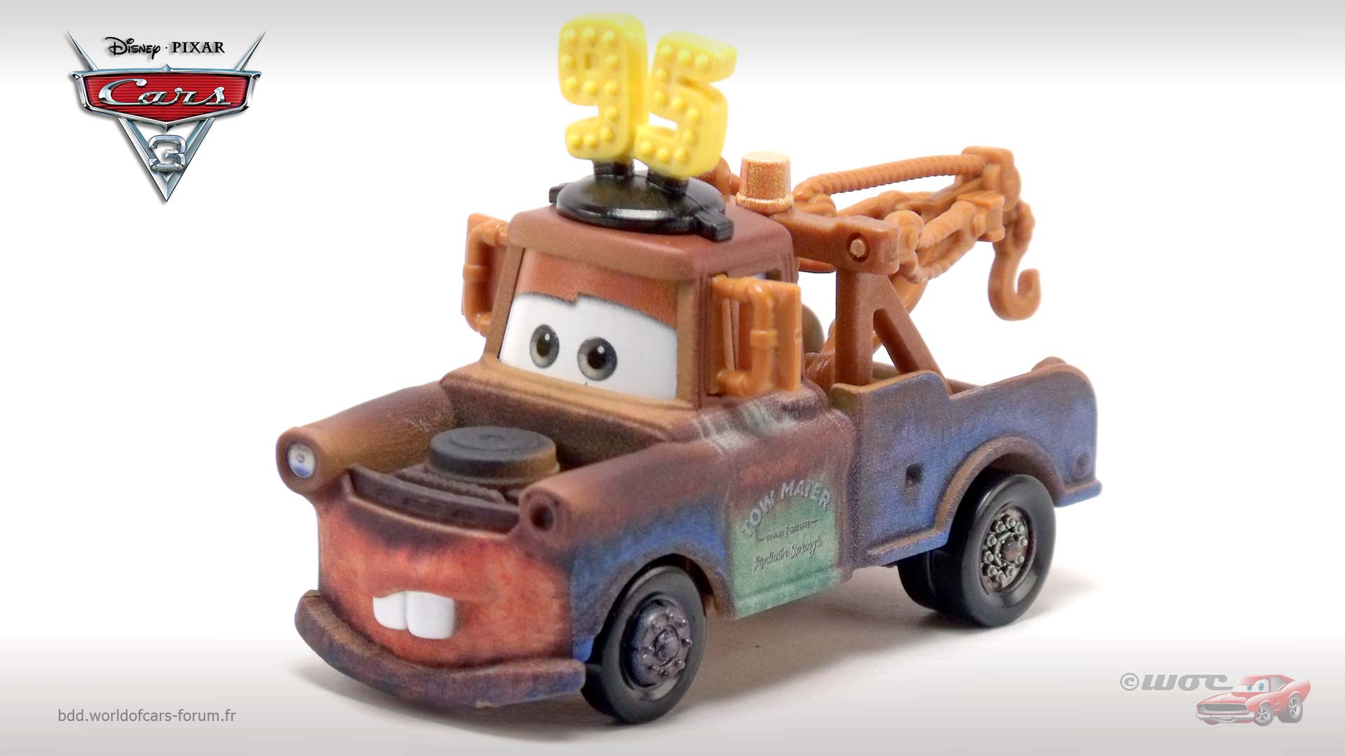 Mater with #95 Hat