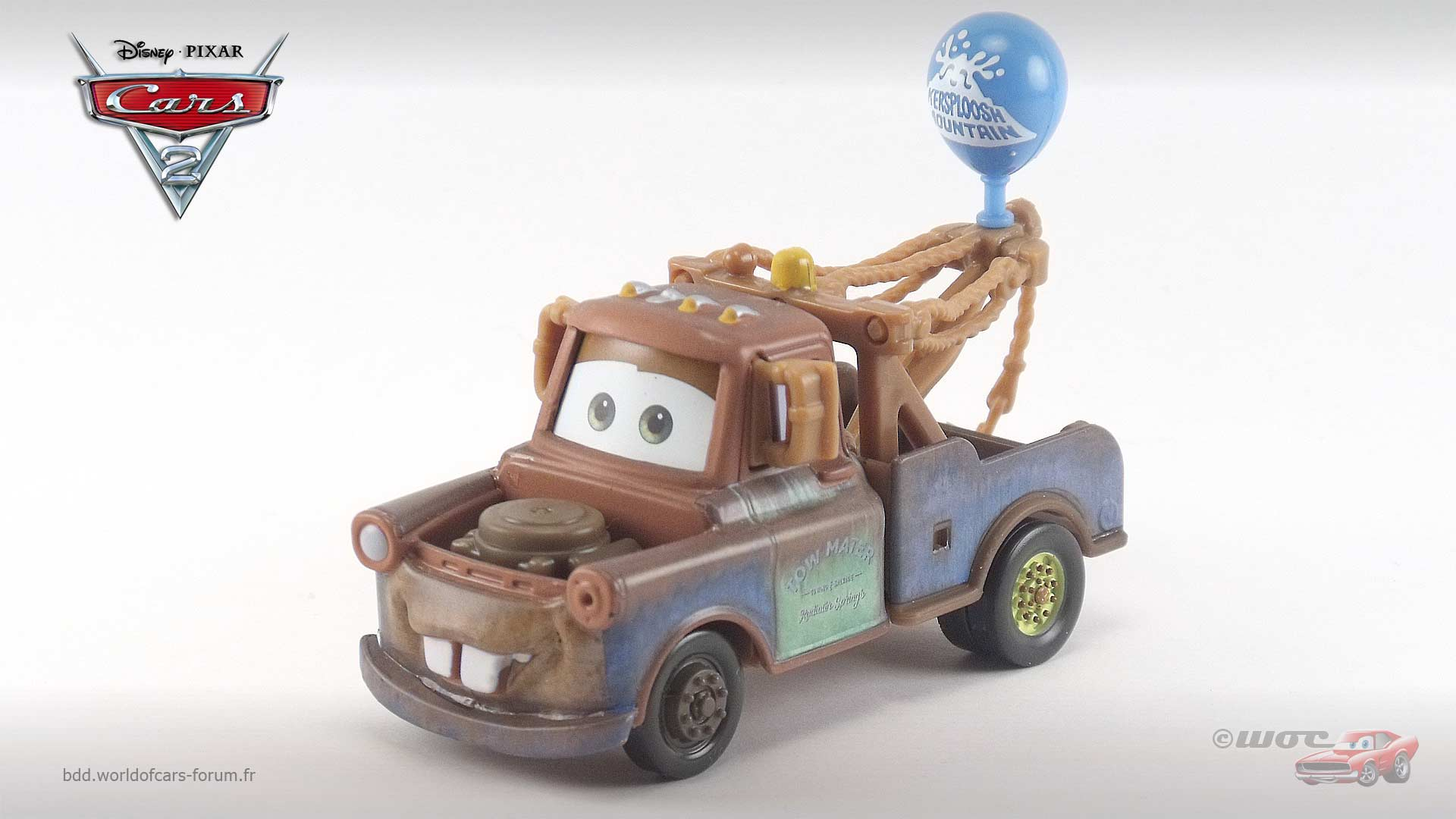 Mater with Balloon