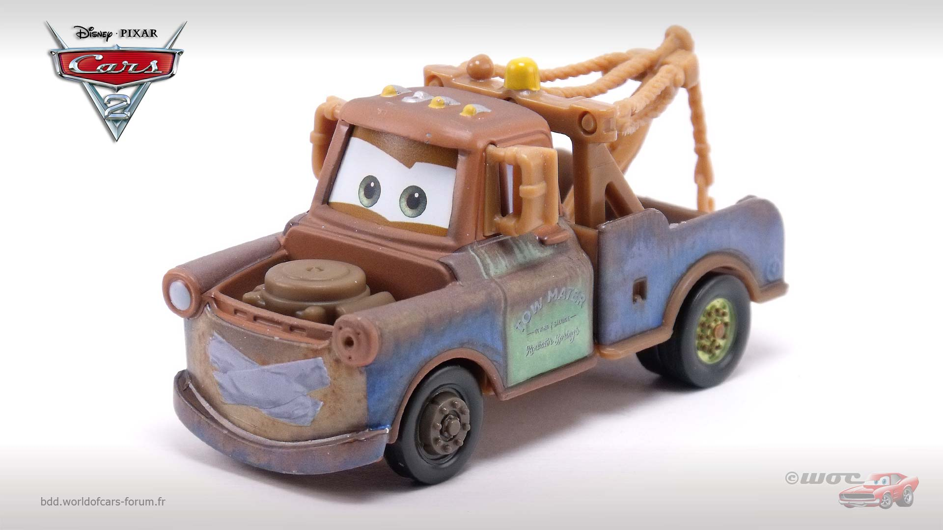 Mater with Duct Tape