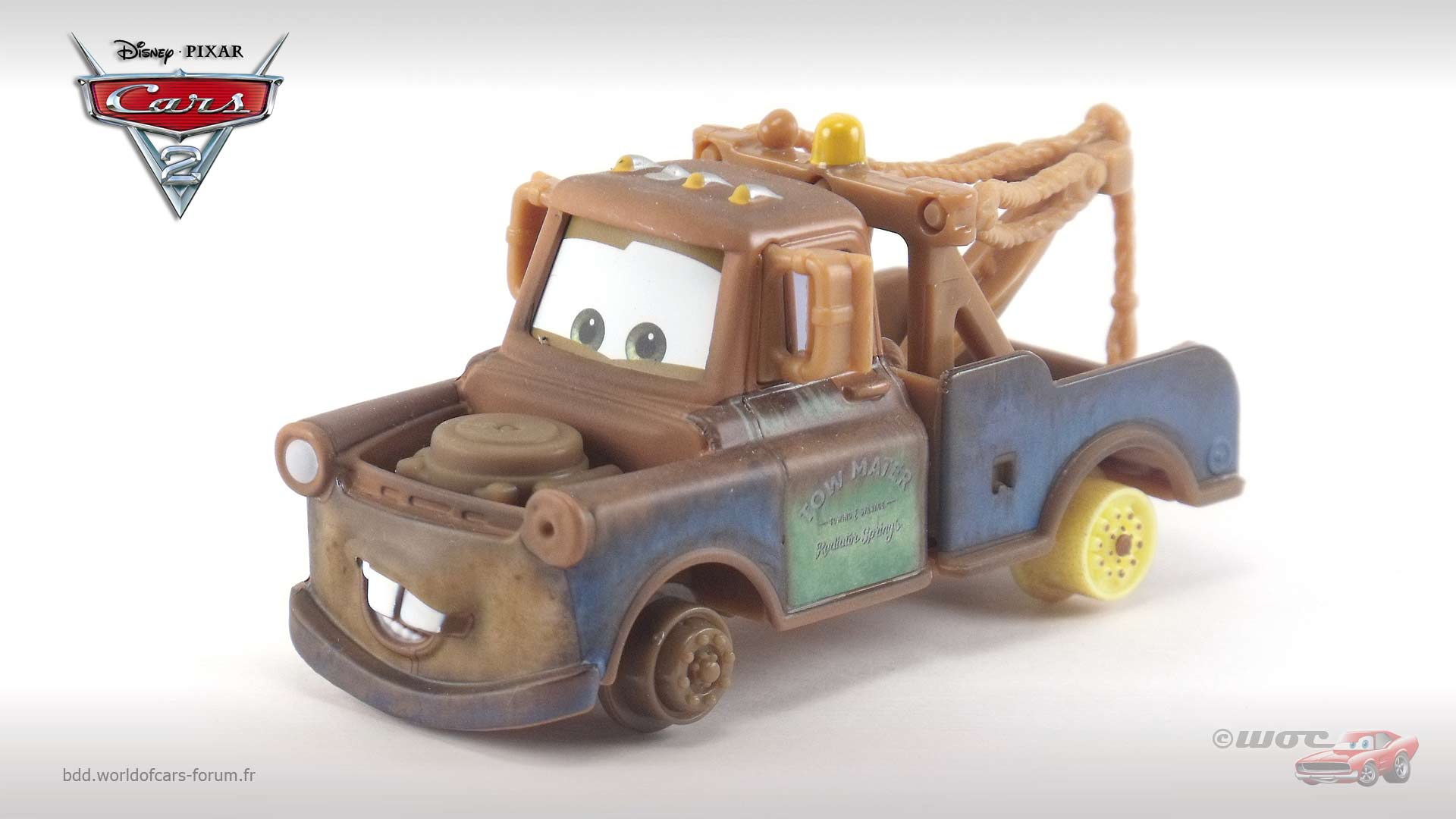 Mater with no Tires