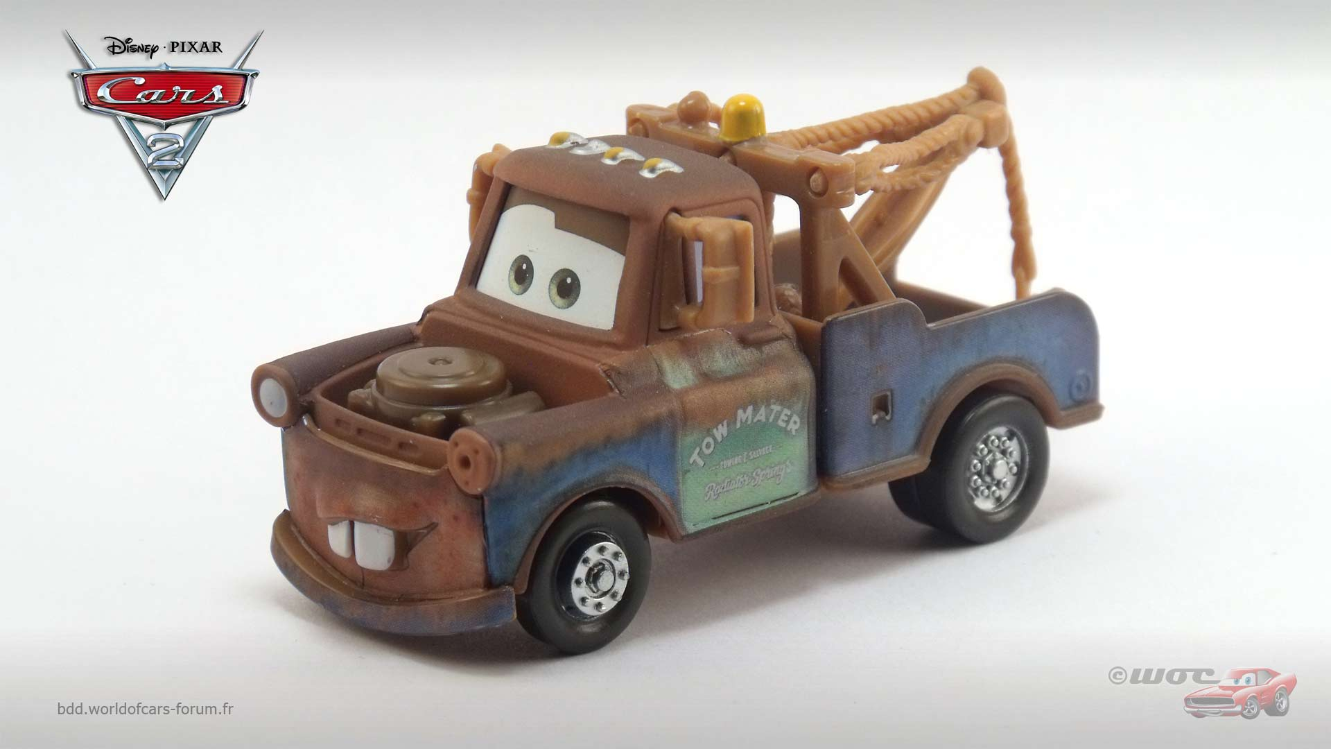 Mater with Silver Wheels