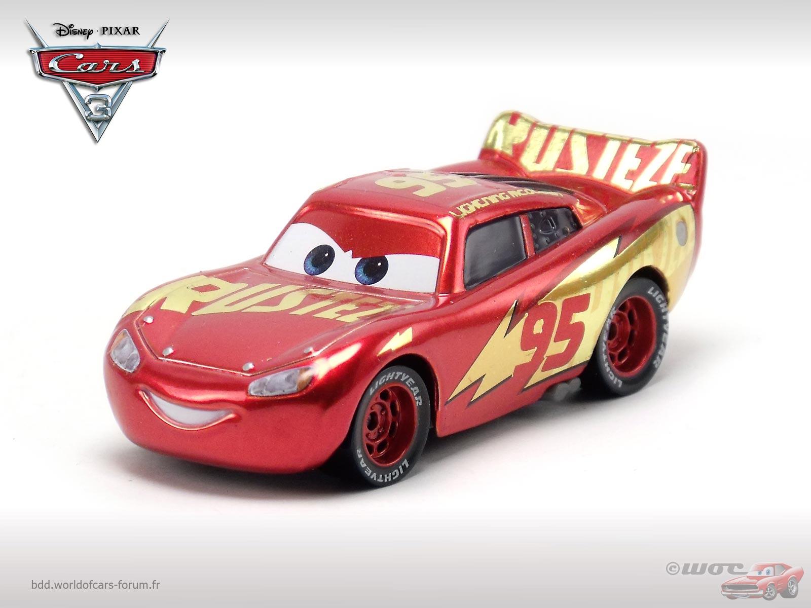 rust eze racing center lightning mcqueen - Flash Mcqueen